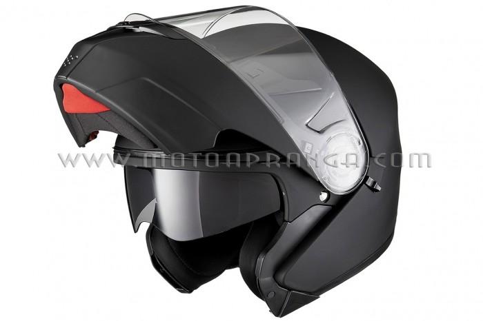 Fury-AGR flip front helmet with sun...