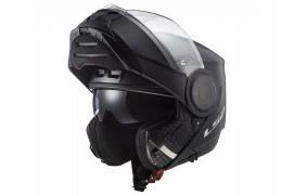 LS2 FF902 SCOPE matt black flip-up helmet